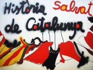 Lithograph Guinovart - Salvat Historia de Catalunya