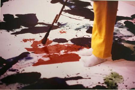 Photography Blum - Sam Francis painting