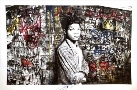 Screenprint Mr. Brainwash - Samo is alive