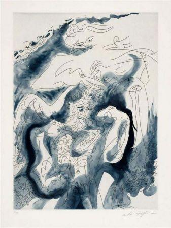 Etching And Aquatint Masson - Samson et Dalida