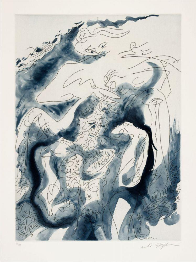 Etching And Aquatint Masson - Samson et Dalila des