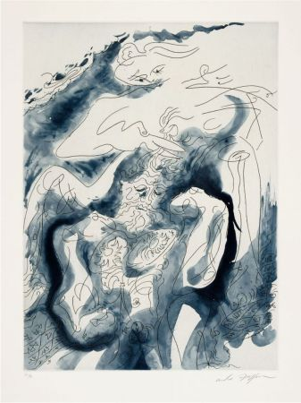 Etching And Aquatint Masson - Samson et Dalila des