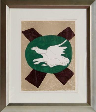 Lithograph Braque -  San Lazarro et Ses Amis
