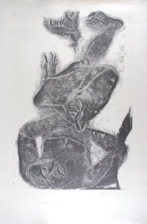 Engraving Fulla - SAN SEBASTIA
