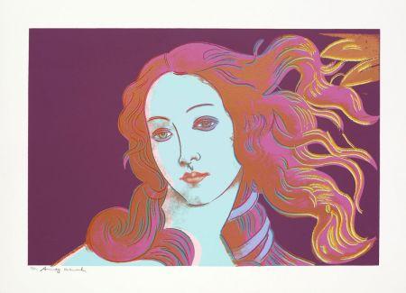 Screenprint Warhol - Sandro Botticelli, Birth of Venus, 1482 (FS II.317)