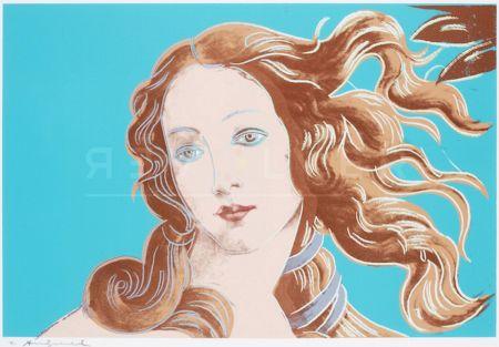 Screenprint Warhol - Sandro Botticelli, Birth Of Venus, 1482 (Fs Ii.319)