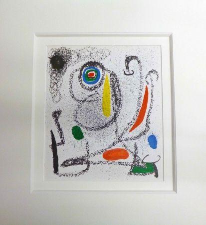 Lithograph Miró - Sans