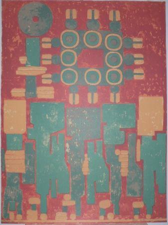 Lithograph Courtin - SANS