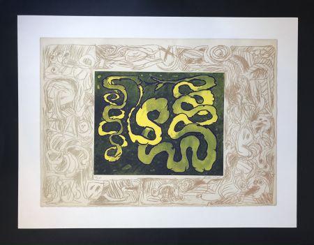 Engraving Alechinsky - Sans sonnette