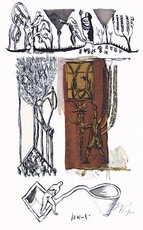 Lithograph Garouste - Sans titre