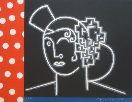 Lithograph Arroyo - Sans titre
