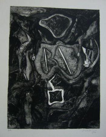 Lithograph Schoendorff - Sans titre