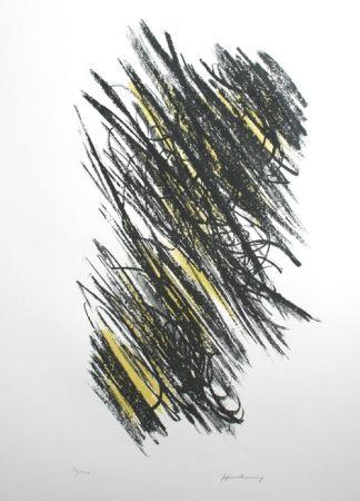 Lithograph Hartung - Sans titre
