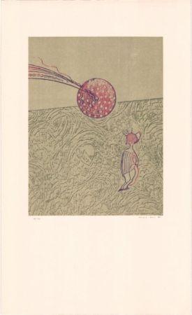 Lithograph Ernst - Sans titre