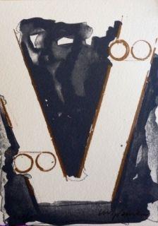 Lithograph Aguilar - Sans titre