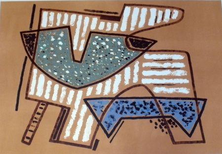Lithograph Magnelli - Sans titre