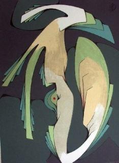 Lithograph Ferrer - Sans titre
