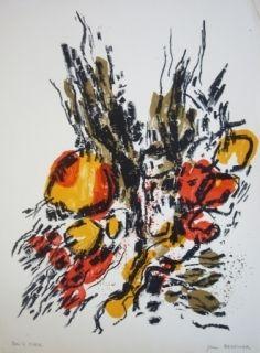 Lithograph Berthier - Sans titre