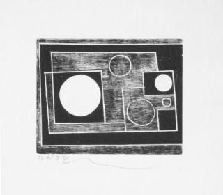 Woodcut Nicholson - Sans titre