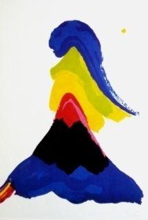 Lithograph Bellegarde - Sans titre
