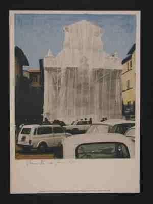 Lithograph Christo - Sans titre