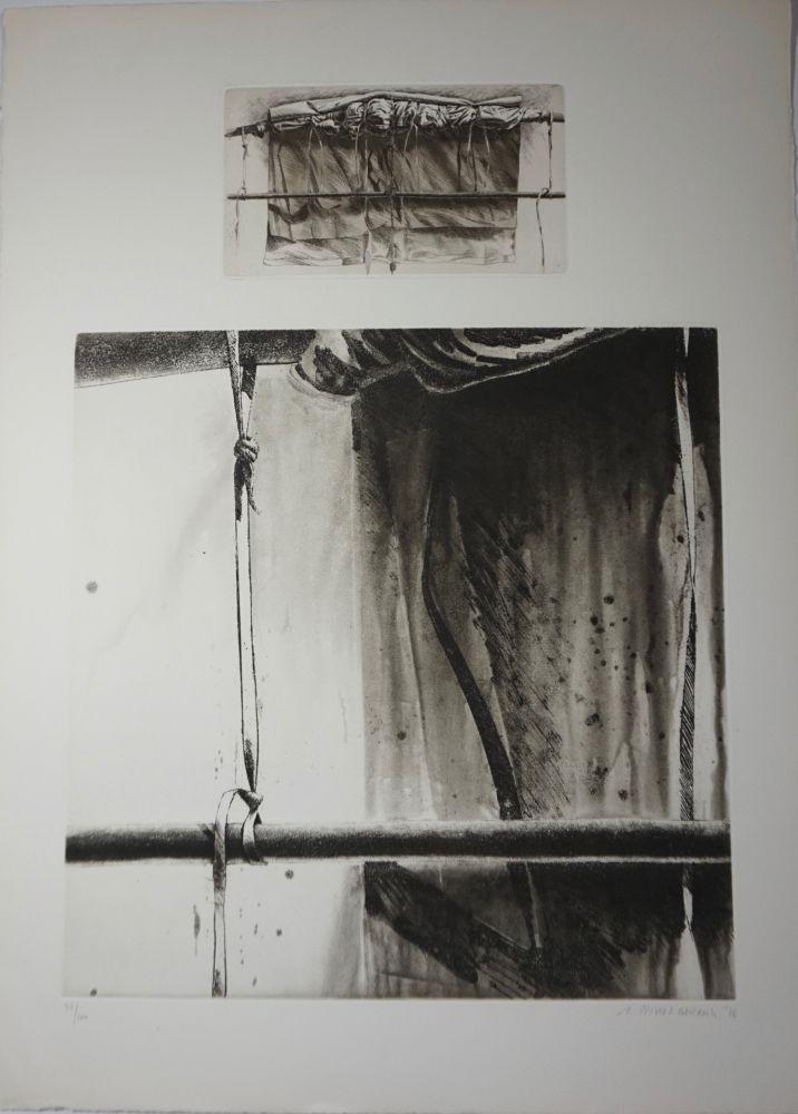 Lithograph Titus Carmel - Sans titre