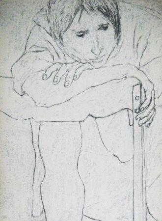 Lithograph Segal - Sans titre