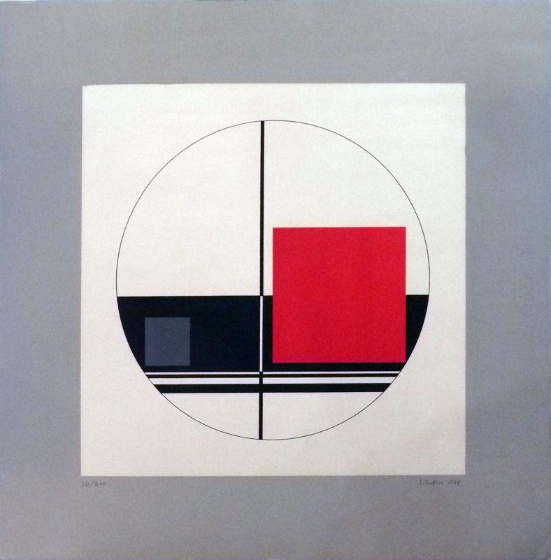 Lithograph Gorin - Sans titre