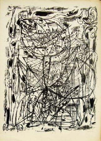 Lithograph Jorn - Sans titre