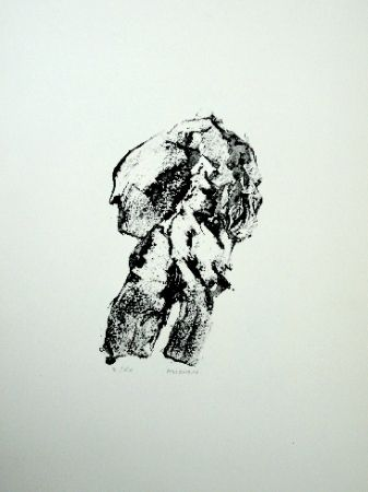 Lithograph Michaux - Sans titre