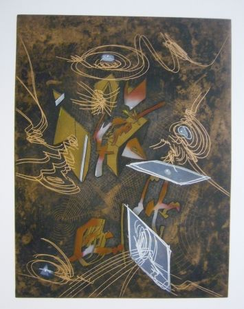 Etching And Aquatint Matta - Sans titre