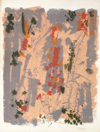 Lithograph Bryen - Sans titre