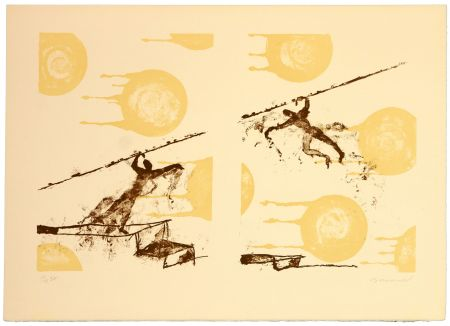 Lithograph Brisson - Sans titre