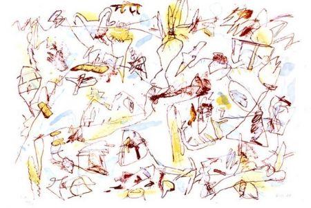 Lithograph Voss - Sans titre