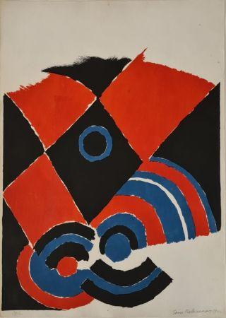 Lithograph Delaunay - Sans titre