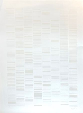 Screenprint Ikeda - Sans Titre