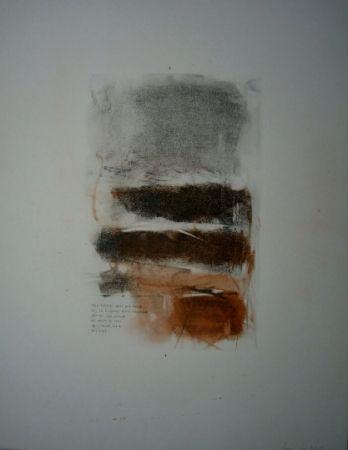 Lithograph Mitchell - Sans titre