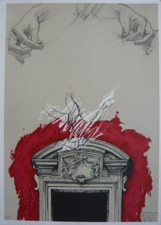 Lithograph Pignon-Ernest - Sans titre