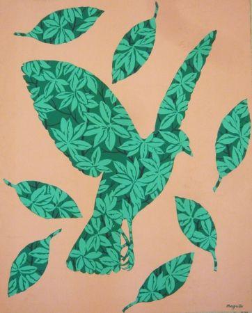 Screenprint Magritte - Sans titre