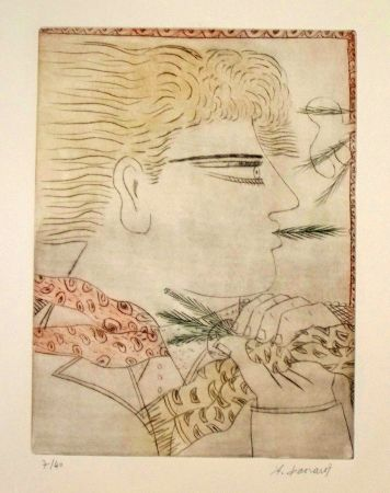 Etching And Aquatint Fassianos - Sans titre