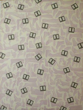 Lithograph Rossell - Sans titre