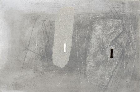 Lithograph Nóvoa - Sans titre
