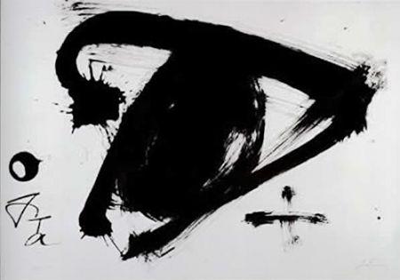 Lithograph Tàpies - Sans titre