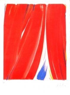 Lithograph Debré - Sans titre