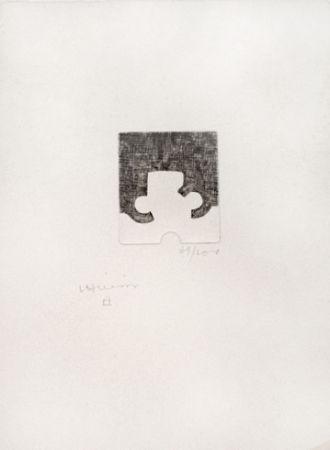 Engraving Chillida - Sans titre
