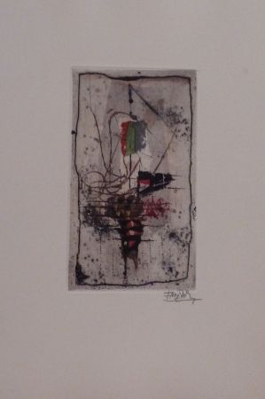 Etching And Aquatint Friedlaender - Sans titre