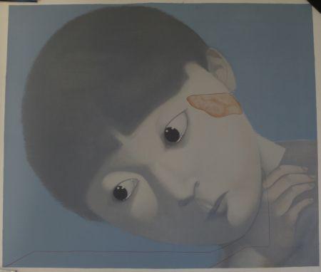 Lithograph Xiaogang - Sans titre