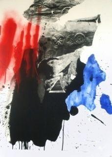 Lithograph Clavé - Sans titre