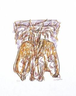 Lithograph Riopelle - Sans titre