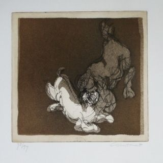 Etching And Aquatint Constant - Sans titre